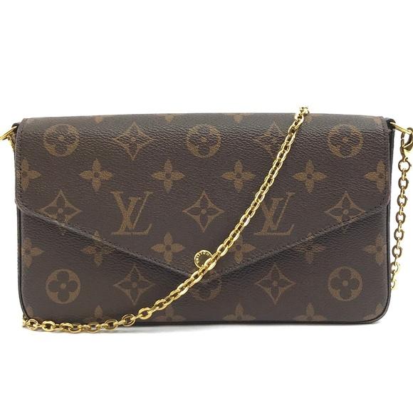Louis Vuitton Handbags - Chain Felicie Long Shoulder Flap Cross Body Bag